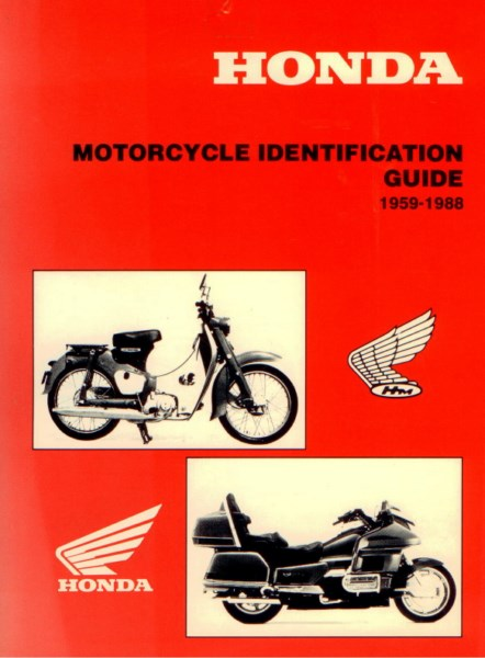 Honda Motorcycle Identification Guide
